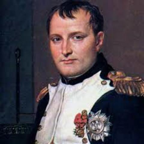Napoleon is Dictator for life
