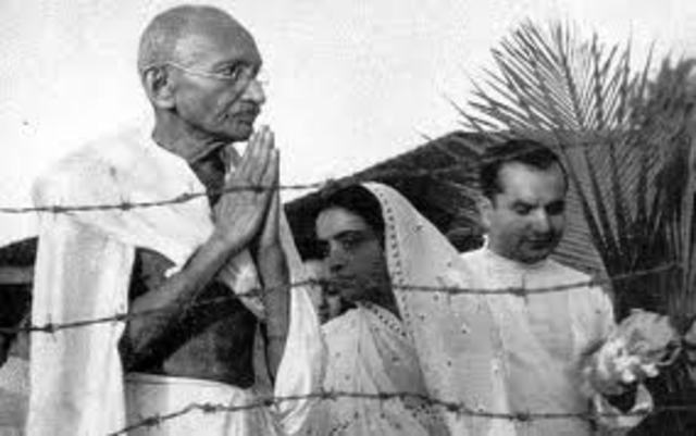Aressted for  India movement.