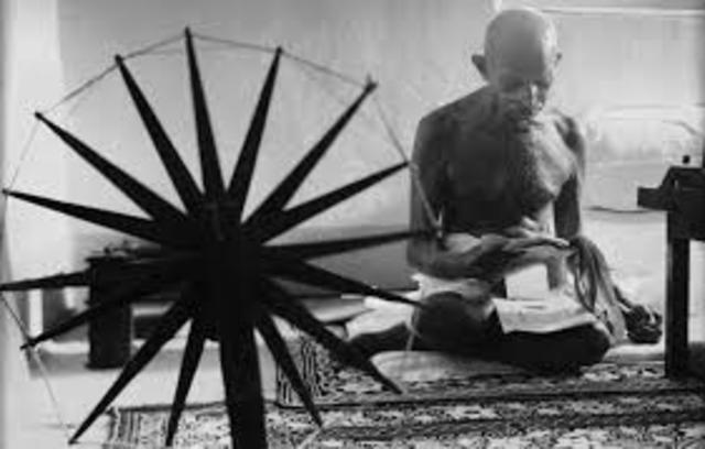 , Gandhi carries out another fast.