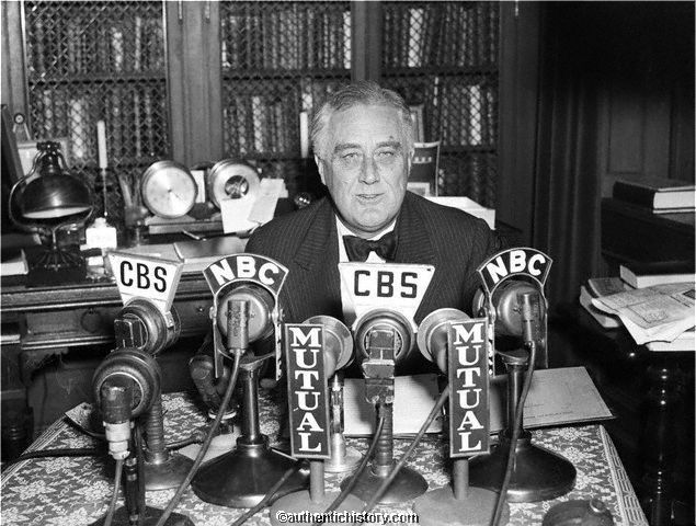 FDR Innagurated and Banking Holiday