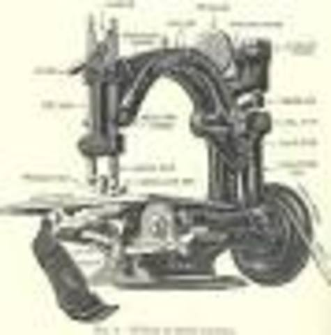Elias Howe made the first proper sewing machine
