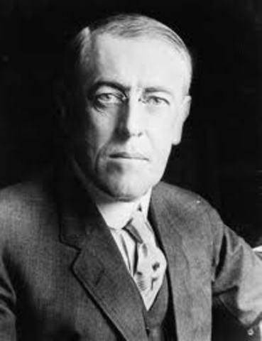 Woodrow Wilson's Inauguration