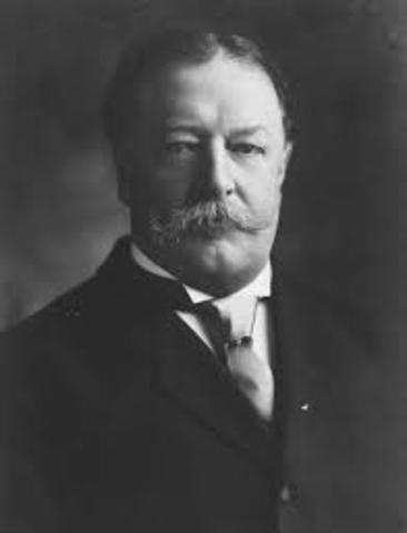 William Taft's Inauguration