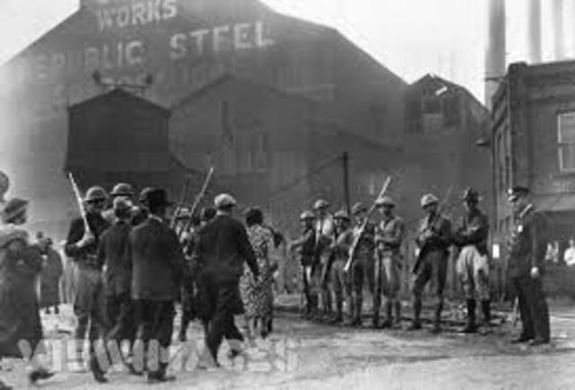 Nationwide steel workers strike