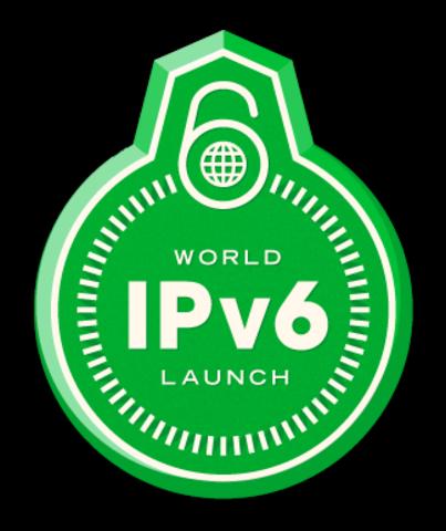 Lanzamiento Mundial de IPv6