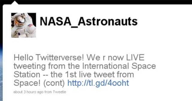 Tripulación de la Estación Espacial Internacional ya tiene acceso a Internet