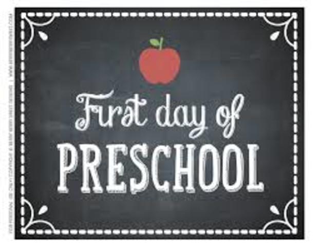 Started Pre-school