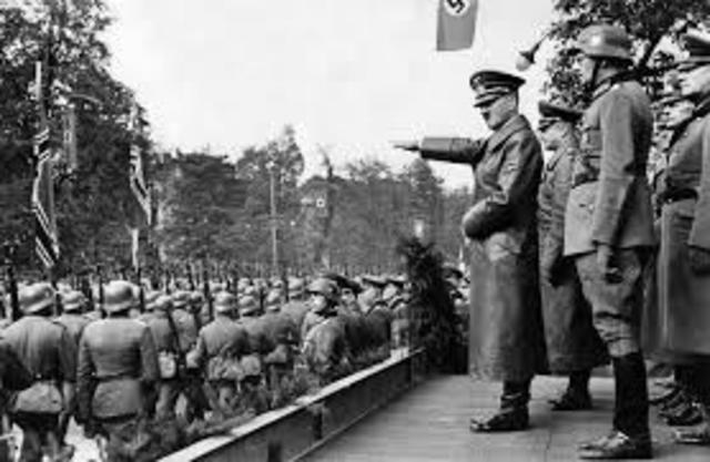 Adolf Hitler invades Poland