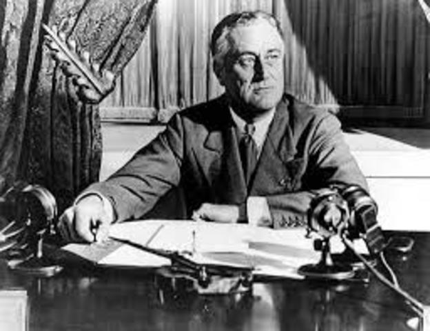 FDR elected to third presidential term