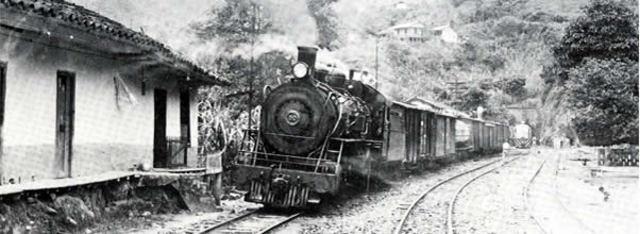La primera vía ferroviaria