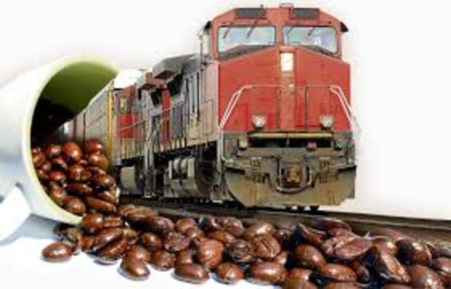 El ferrocarril y el café