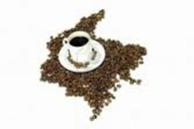 visperas de la primera bonanza cafetera