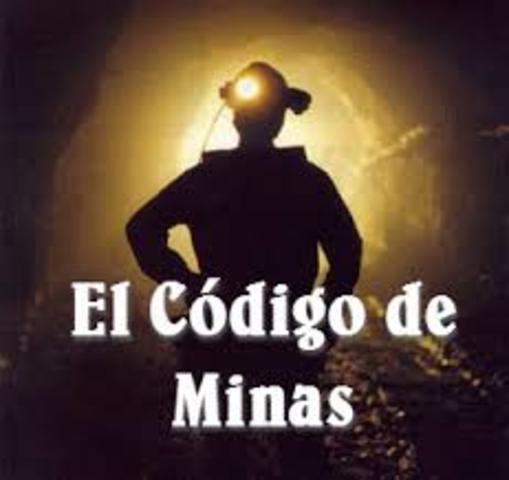 Codigo de minas del estado antioqueño