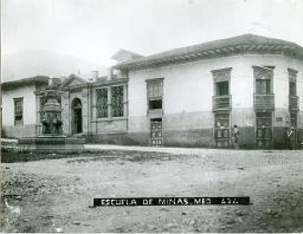 La escuela de minas