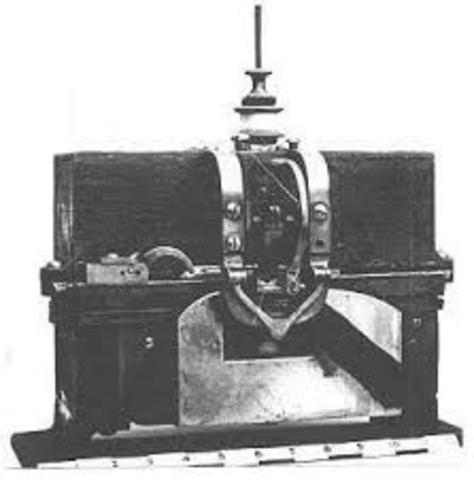 Charles Judkins created 1st power driven sewing machine