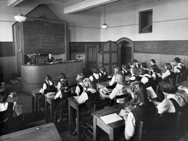 War-time Schooling