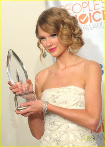 Taylor y sus trofeos