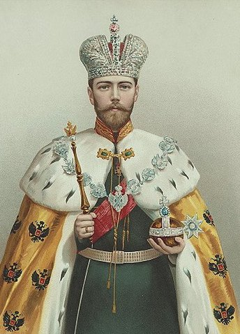 Russian Tsar Nicholas II abdicates.