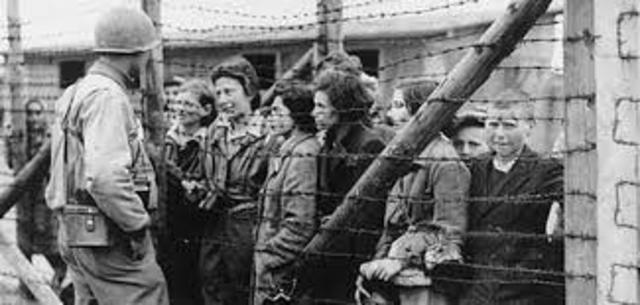 Auschwitz liberated by Allied Forces