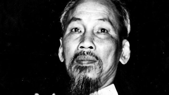 Ho chi minh leads the NLF
