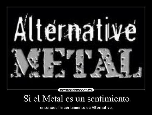 metal alternatiu