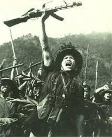 Viet Cong begin fighting back