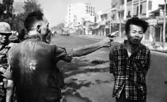 Diem's forces crack down of Viet Cong