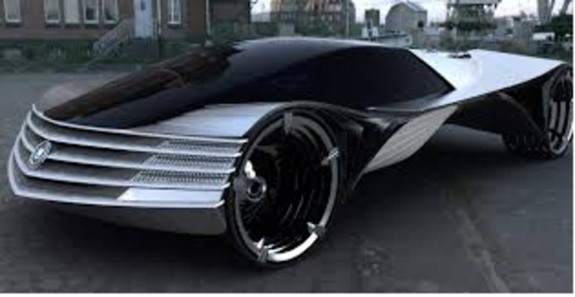 1st Gas Running Automobile - Justace