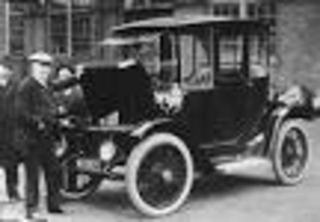 1st Electric form of transportation - Geovanni
