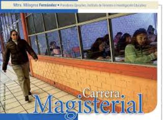 Estimulación a maestros con Carrera Magisterial
