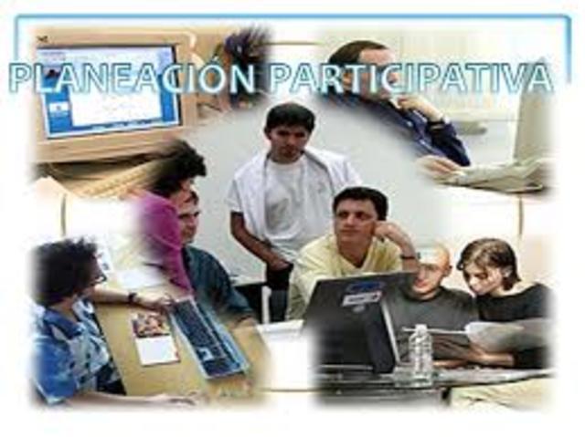 Planeación y evaluación participativa.