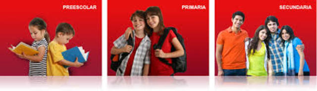 integración de Preescolar, Primaria y Secundaria a Educación Básica.