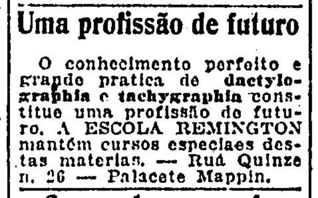 Primeiro Registro de Curso à Distancia no Brasil
