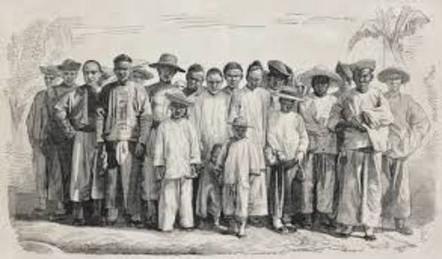 Chinese Exclusion Act in 1882