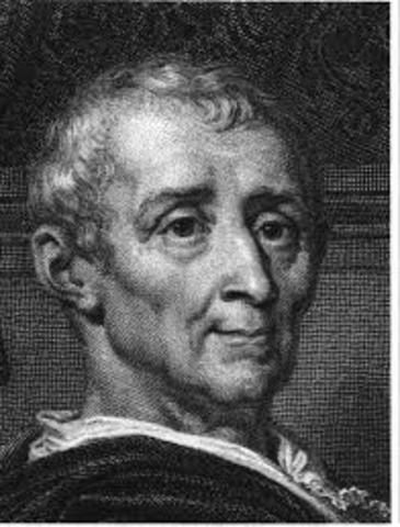 Montesquieu död