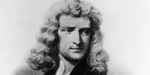 Isaac Newton död