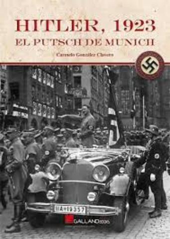 Fracaso de Golpe de Estado por parte de Hitler