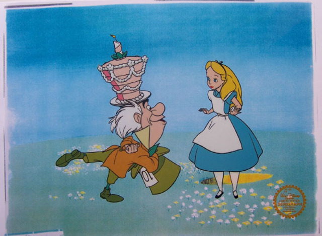 Disney created Alice in Wonderland