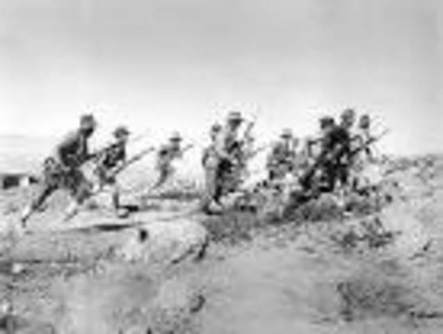 The Battle of Gallipoli begins.