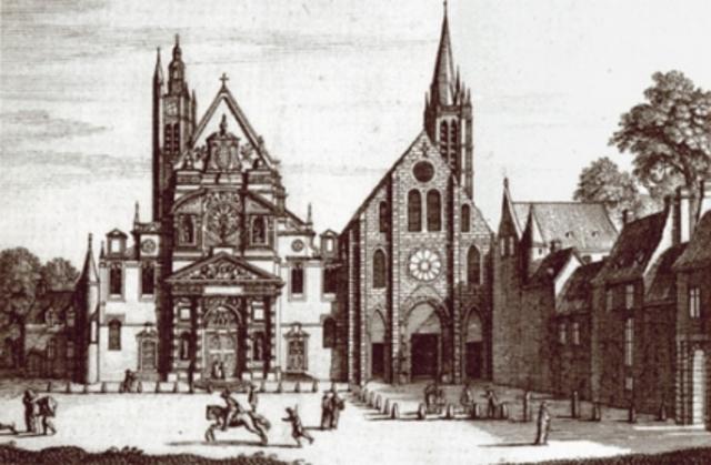 Kyrkan/ religionens utveckling i Frankrike