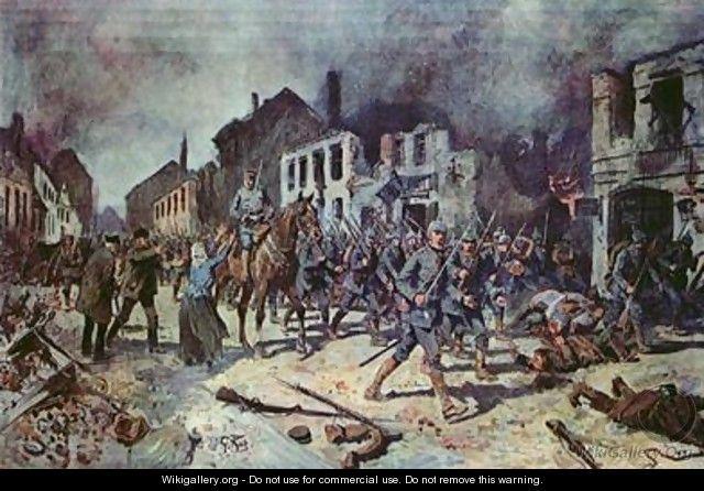 The Battle of Tannenberg begins
