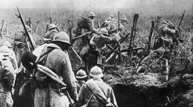 The Battle of Verdun begins.