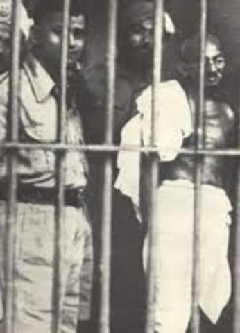 Gandhi arrested