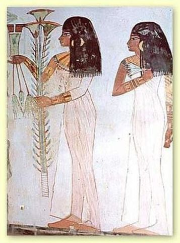 Color to the Face (4,000 BC)