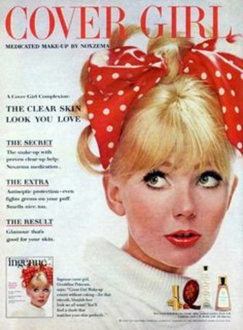 Cover Girl Makeup Introduced (1961 AD)