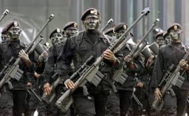 Escisión: Amenaza de Muamar el Gadafi