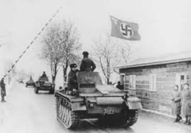 Ocupación de Checoslovaquia