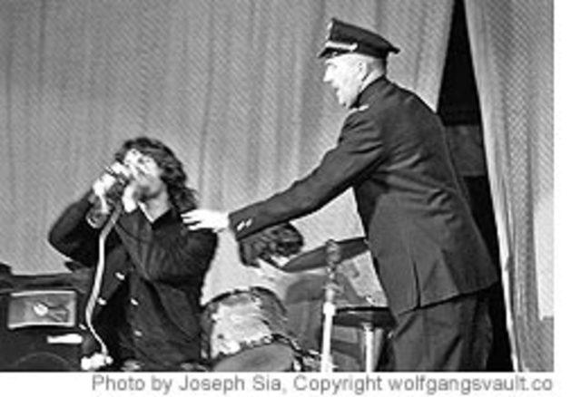 Jim Morrison: First Man Arrested On Stage