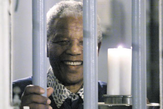 מנדלה שוב בכלא