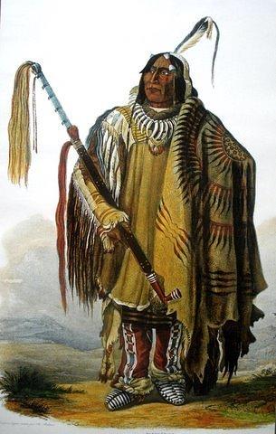 Hidatsa Warrior Pehriska- Ruhpa